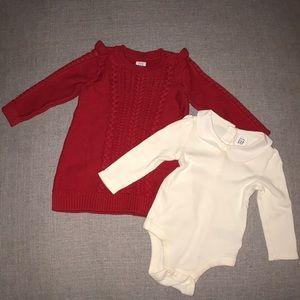 Baby Gap sweater dress bundle